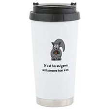 Squirrel Nut Black.png Ceramic Travel Mug