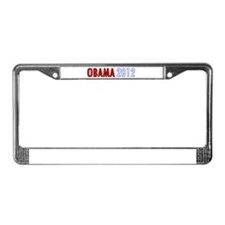 Unique Barrack obama 2012 License Plate Frame
