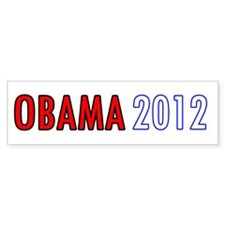 Unique Barrack obama 2012 Bumper Sticker