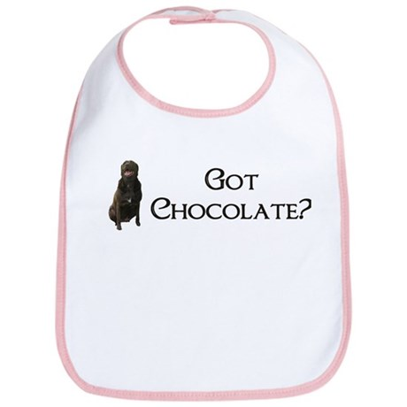 got chocolate? Bib