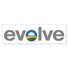 "Obama ""Evolve"" Bumper Sticker"