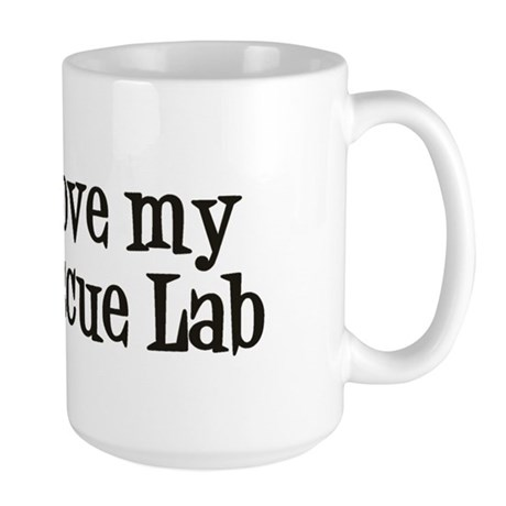 Rescue Lab Large Mug