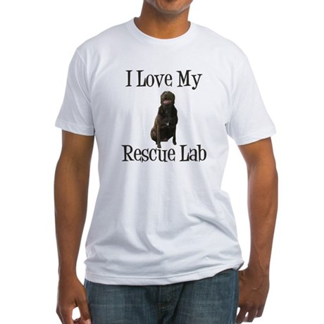 Rescue Lab Fitted T-Shirt