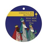 Three Wise Men Personalized Christmas Ornament