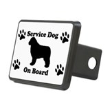 Newfoundland Service Dog Hitch Cover