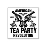 """Tea Party Revolution"" Sticker 3"" x"