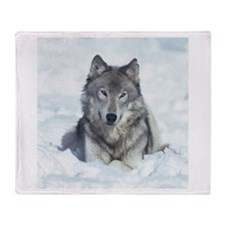 Wolf Throw Blanket