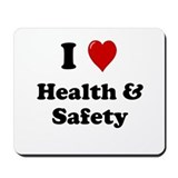 Health and Safety Officer or Manager Mousepad