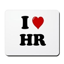 HR Worker Mousepad - I Heart HR Mousepad