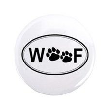 "woof 3.5"" Button (100 pack)"