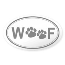 woof Decal