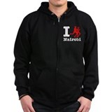 I Run Nairobi Zip Hoodie