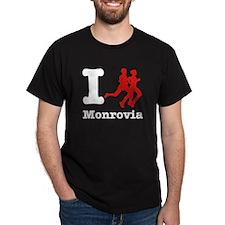 I Run Monrovia T-Shirt