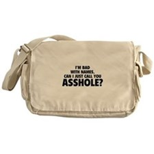 Call You Asshole Messenger Bag