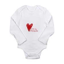 Funny Infertility Long Sleeve Infant Bodysuit