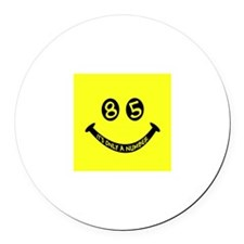 85th birthday smiley face Magnet