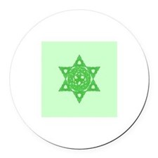 Celtic Star of David Magnet