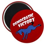 Democratic Victory Politcal Magnet