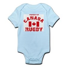 """""""Canada Rugby"""" Infant Creeper"""