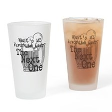 Next Beer Drinking Glass