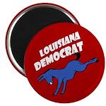 Louisiana Democrat Magnet