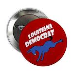 Louisiana Democrat Political Button