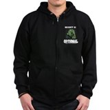 Misery Is Optional Zip Hoody