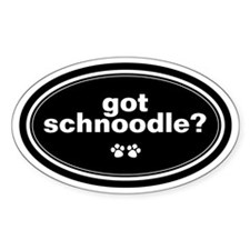 Got Schnoodle? Oval Decal
