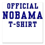 Official NOBAMA Square Car Magnet