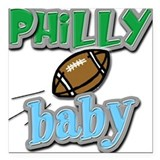 PHILLY baby (BOY) Square Car Magnet