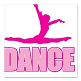 DANCE Square Car Magnet