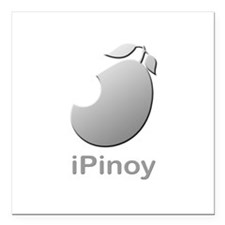 iPinoy Square Car Magnet