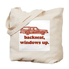 Backseat Tote Bag