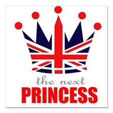Next Princess Square Car Magnet