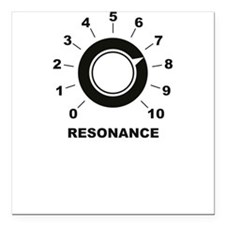 Resonance Square Car Magnet