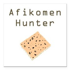 Afikomen Hunter Square Car Magnet