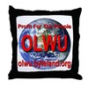 On-Line Workers Union Throw Pillow