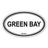 Green Bay (Wisconsin) Oval Decal