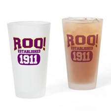 roo1911.jpg Drinking Glass