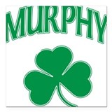 Murphy Irish Square Car Magnet
