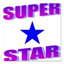 Superstar Square Car Magnet