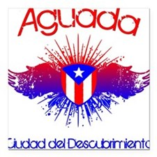 Aguada Square Car Magnet