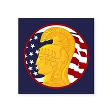 "WAC Veteran Square Sticker 3"" x 3"""