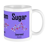 Coffee, Cream and Sugar Molecule Small Mug (purple) Small Mug