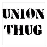 Union T Original Union Thug Square Car Magnet