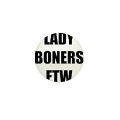 Lady Boners Mini Button (10 pack)