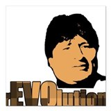 rEVOlution Square Car Magnet