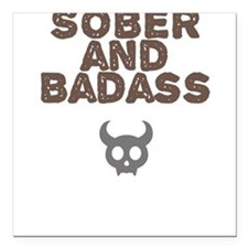 Badass Square Car Magnets Square Car Magnet