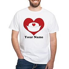 Personalized Nurse Heart Shirt