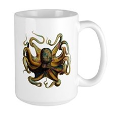 Colorful Octopus Swirling Tentacles Mug
